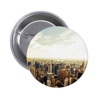 Looking Out Over the New York City Skyline Pins