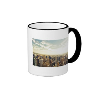 Looking Out Over the New York City Skyline Mug