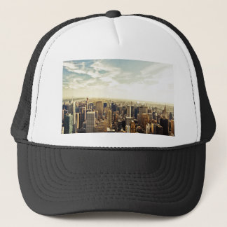 Looking Out Over the New York City Skyline Trucker Hat