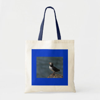 Looking Out to Sea Puffin Bag
