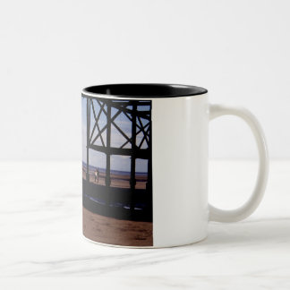 Looking Out to Sea Two-Tone Coffee Mug