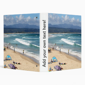 Looking over a beautiful South African Beach Binder