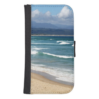 Looking over a beautiful South African Beach Phone Wallets