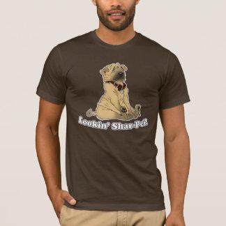 Looking Shar Pei T-Shirt