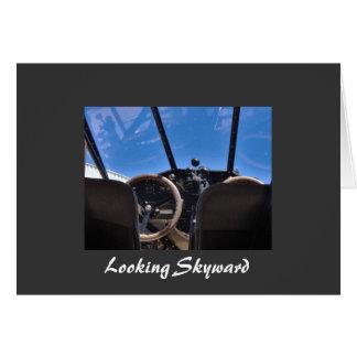 Looking Skyward Notecard Stationery Note Card