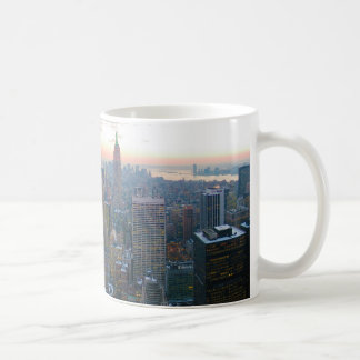Looking South from Top of the Rock New York City Coffee Mug