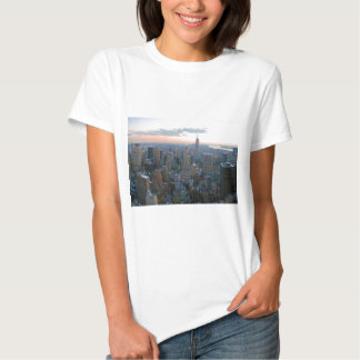 Looking South from Top of the Rock New York City T Shirt