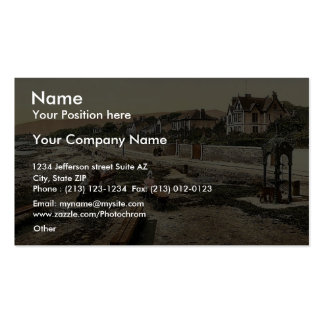 Looking south, Kirn, Scotland classic Photochrom Business Card Templates