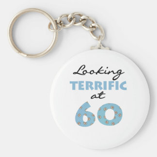 Looking Terrific at 60 Keychain