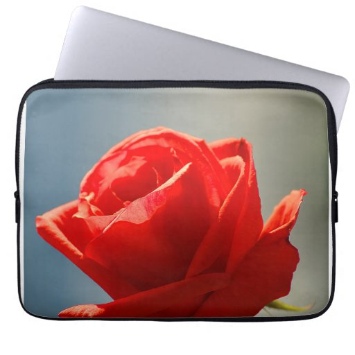 Looking the rose laptop sleeve