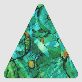 Looking Through Layers Products Triangle Sticker
