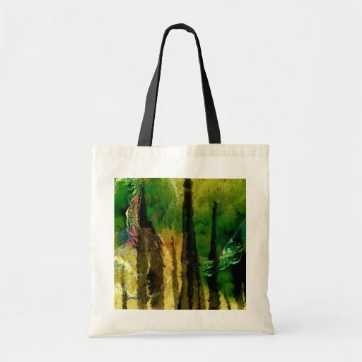 LOOKING THRU THE FOREST...TOTE BAG