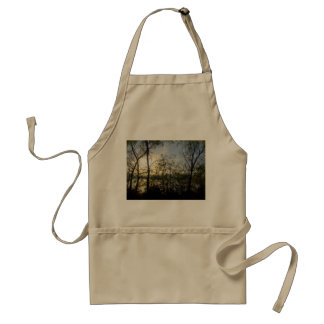 Looking thru the trees adult apron