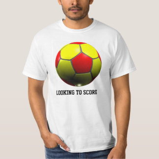 LOOKING TO SCORE: 3D SOCCER BALL SHIRT
