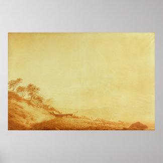 Looking towards Arkona at sunrise, 1801 Poster