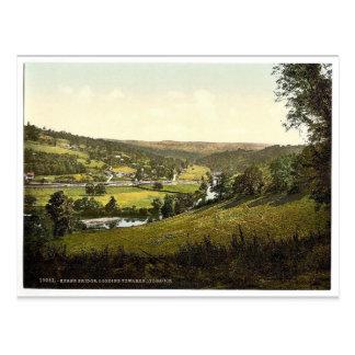 Looking towards Lydbrook, Kerne Bridge, England ma Postcard