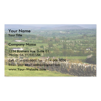 Looking Towards The Wicklow And Dublin Mountains F Business Card Template