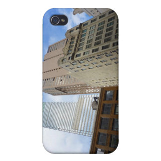 Looking Up at Skyscrapers, New York City iPhone 4 Covers