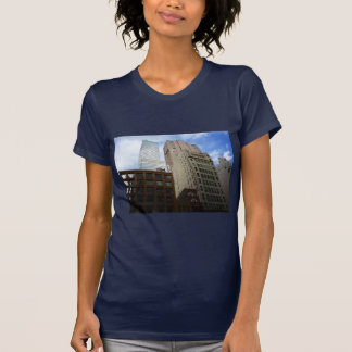 Looking Up at Skyscrapers, New York City T-Shirt