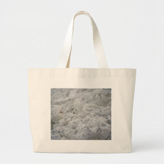 Looking Up at the White Cliffs Canvas Bags