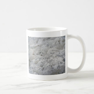 Looking Up at the White Cliffs Coffee Mug