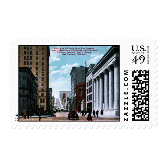 Looking up California Stamp