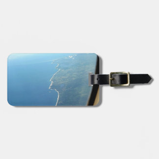 Looking up coastline bag tags