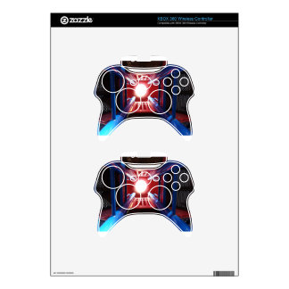Looking up from a child's prospective xbox 360 controller skin