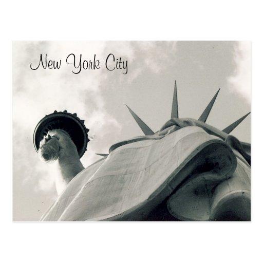 looking up liberty post card