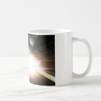 Looking up mug