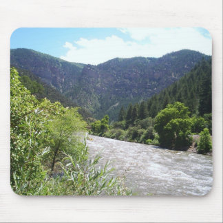 Looking up River mousepad