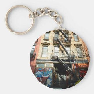 Looking Up, St. Mark's Place, East Village Keychain