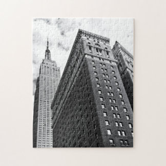 Looking Up - The Empire State Building - New York Jigsaw Puzzle