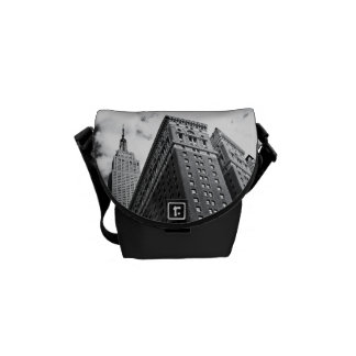 Looking Up - The Empire State Building - New York Messenger Bags