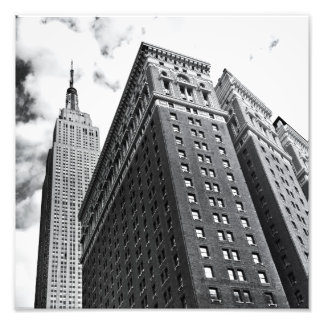 Looking Up - The Empire State Building - New York Photo Print