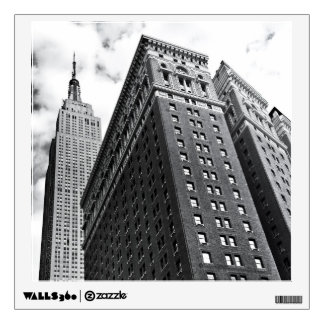 Looking Up - The Empire State Building - New York Wall Sticker