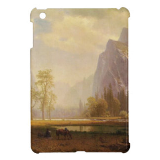 Looking Up the Yosemite Valley - Albert Bierstadt iPad Mini Cases