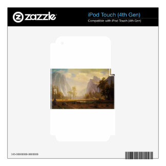 Looking Up the Yosemite Valley - Albert Bierstadt iPod Touch 4G Skin