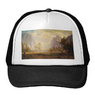 Looking Up the Yosemite Valley - Albert Bierstadt Trucker Hat