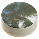 Looking Up to Coconut Palm Tree Tropical Nature Chocolate Covered Oreo