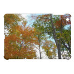 Looking Up to Fall Leaves I Colorful Fall Foliage Cover For The iPad Mini