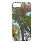 Looking Up to Fall Leaves I Colorful Fall Foliage iPhone 8/7 Case