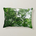 Looking Up to Summer Trees Accent Pillow