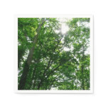 Looking Up to Summer Trees Napkin