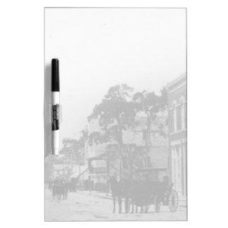 Looking West On Flagler Street Dry-Erase Boards