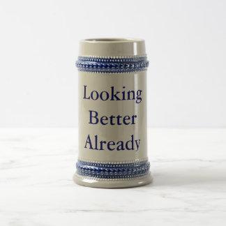 LookingBetterAlready Beer Mug