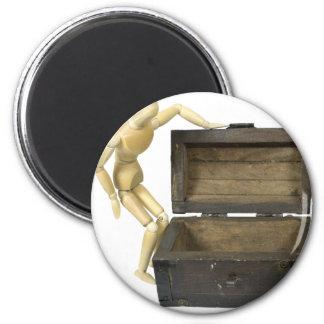 LookingInTrunk031910 Refrigerator Magnets