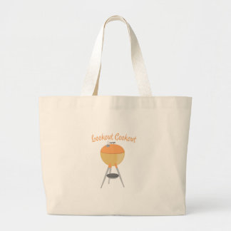 Lookout Cookout Jumbo Tote Bag
