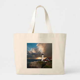 Lookout Lighthouse Large Tote Bag