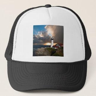 Lookout Lighthouse Trucker Hat